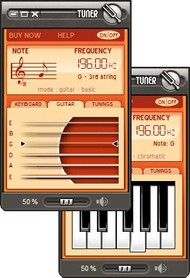 Guitar-Online Tuner screenshot